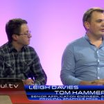 Intel's Leigh Davies and Codemasters' Tom Hammersley