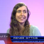 Stumbling Cat Creative Director and CEO Renee Gittins at GDC 2016 during this interview which was featured during our live Waskul.TV broadcast