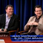 Vantrix CEO Jean Mayrand and HP VP Server Engineering Tom Bradicich during a discussion on media transcoding and delivery using the HP Moonshot with the Intel® Xeon® processor E3 in a StudioXperience interview on Waskul.TV