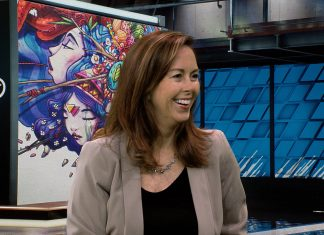 HP's Sarah Burton on ZBooks and Mobile Workstation planning at HP on Waskul.TV in StudioXperience at the 2018 NAB Show