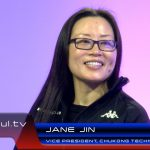 Chukong Technology VP Jane Jin during a StudioXperience interview on Waskul.TV