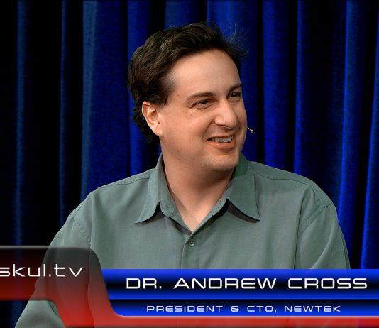 NewTek President and CTO Dr. Andrew Cross takes a look at the latest ways NewTek is enabling live online productions during a live StudioXperience broadcast on Waskul.TV