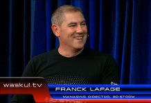 3D Storm Managing Director Franck Lafage at the 2015 NAB Show StudioXperience to talk about the NewTek Tricaster
