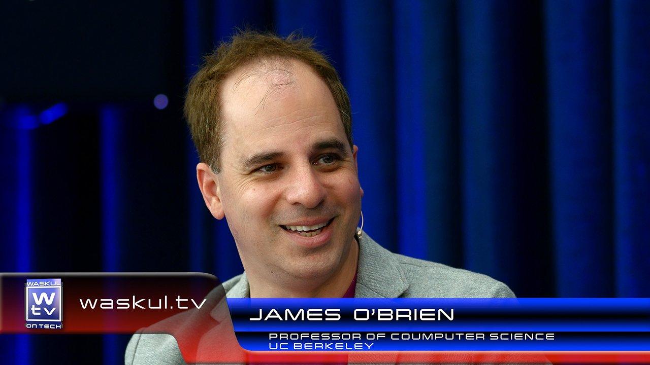 Oscar Winner & Berkeley Professor James O'Brien on Waskul.TV