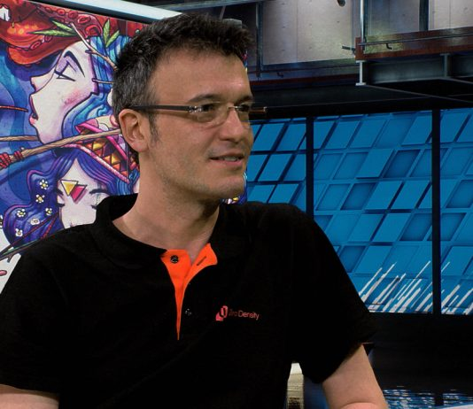 Aydemir Sahin of Zero Density talks about Reality and realistic virtual sets during a live interview on WaskulTV