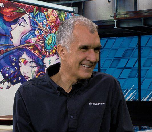 Brainstorm CEO Ricardo Montesa talks advanced 3D graphics on Waskul.TV at the 2018 NAB Show