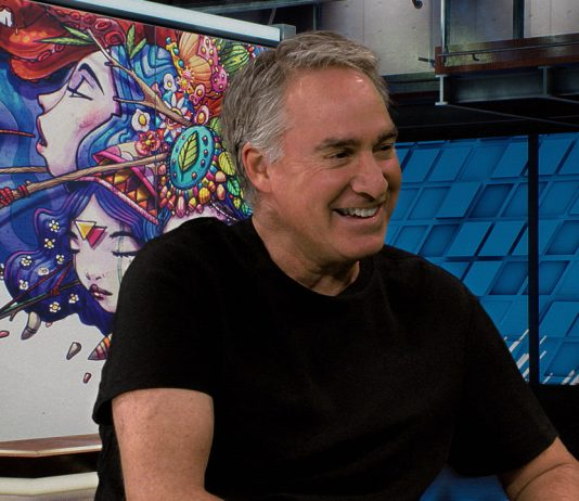 "Ted Schilowitz on ""discovering"" the future of immersive media experiences during a Waskul.TV interview in StudioXperience"